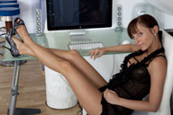 small preview pic number 1 from set 820 showing Allyoucanfeet model CathyB