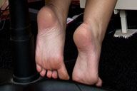small preview pic number 2 from set 864 showing Allyoucanfeet model Jana