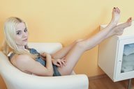 small preview pic number 1 from set 874 showing Allyoucanfeet model Silvi