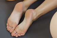 small preview pic number 5 from set 879 showing Allyoucanfeet model Sandrine