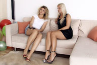 small preview pic number 1 from set 888 showing Allyoucanfeet model Nati & Dani