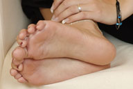 small preview pic number 2 from set 891 showing Allyoucanfeet model Tina