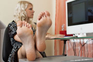 small preview pic number 5 from set 893 showing Allyoucanfeet model Isi