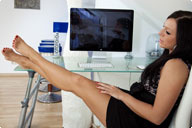 small preview pic number 4 from set 910 showing Allyoucanfeet model Valerie - New Model