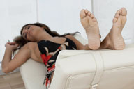 small preview pic number 3 from set 913 showing Allyoucanfeet model Mel