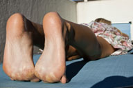 small preview pic number 3 from set 950 showing Allyoucanfeet model Nine