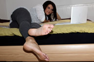 small preview pic number 3 from set 966 showing Allyoucanfeet model Lana