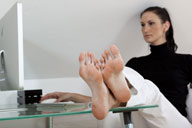small preview pic number 4 from set 992 showing Allyoucanfeet model Iwona